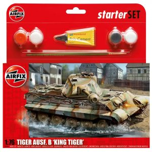 King Tiger Tank Starter Set A55303