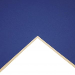 5011385908466 - 302 001 029 - Cream Core Mountboard Hussar Blue A1