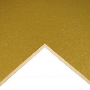 5011385908497 - 302 001 032 - Cream Core Mountboard Gold Olympic A1