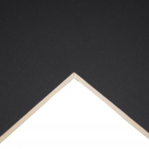 Cream Core Board Poster Black A1