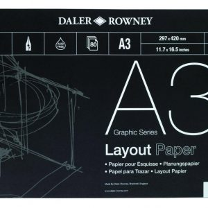 Layout Paper Pad 45gsm A3