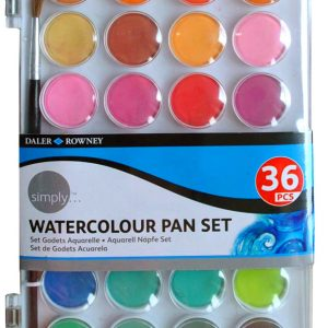 Simply Watercolour 36 Pan Set