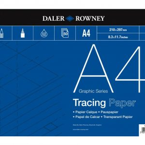 Daler Rowney Tracing Paper Pad 60gsm A4