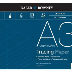 Daler Rowney Tracing Paper Pad 90gsm A3