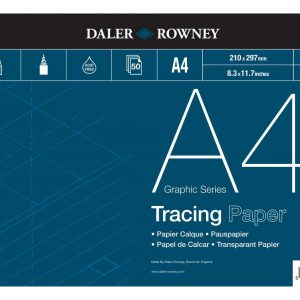 Daler Rowney Tracing Paper Pad 90gsm A4