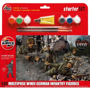 Airfix Multipose WWII German Infantry Figures A55210