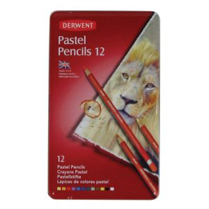 Derwent Pastel Pencils 12