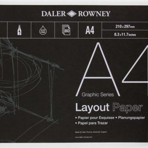Layout Paper Pad 45gsm A4