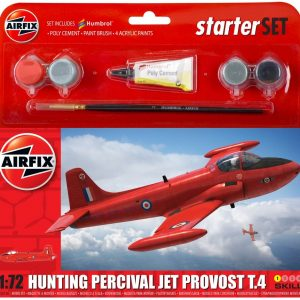 A55116 Airfix Hunting Percival Jet Provost T.4 Starter Set