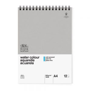 Winsor & Newton Watercolour Classic Pad A4 Spiral
